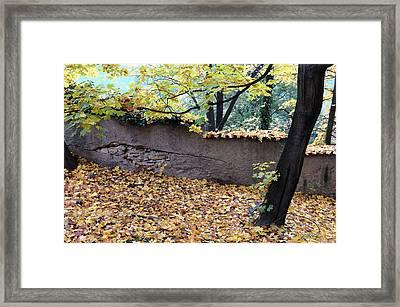 Hill In Prague Framed Print by Gianfranco Evangelista