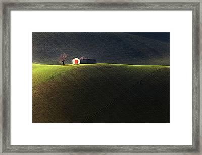 Hill Framed Print