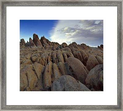 Hill Top Convergence Framed Print
