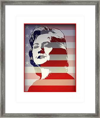 Hillary Framed Print by Chris Van Es