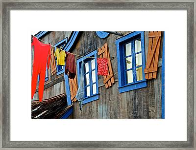 Hillbilly Haven Framed Print