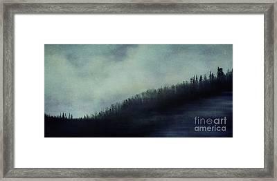 Hillcrest Framed Print by Priska Wettstein