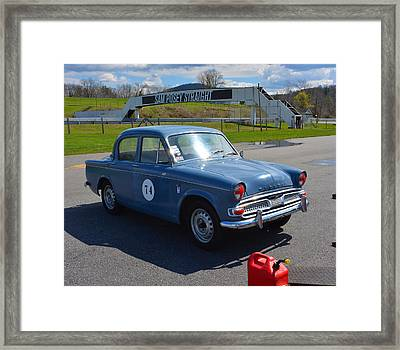 Hillman 1600 Framed Print by Mike Martin