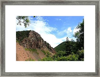 Hills Framed Print by Jason Lees