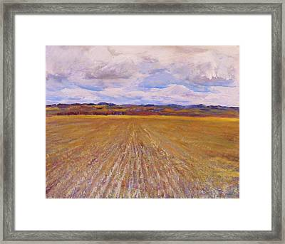 Hills Of St. Anthony Framed Print by Helen Campbell