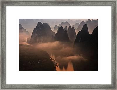 Hills Of The Gods Framed Print