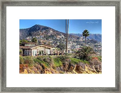 Hillside View Framed Print