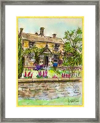 Hilltop Farm Framed Print