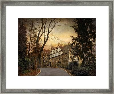 Hilltop Home  Framed Print