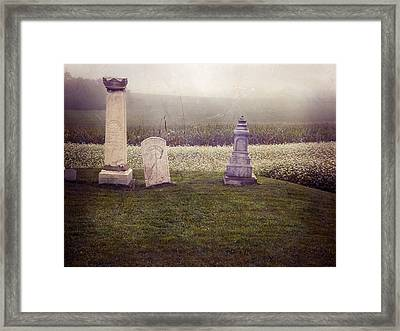 Hilltop Framed Print by Steven  Michael