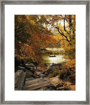 Hilltop Views Framed Print by Jessica Jenney