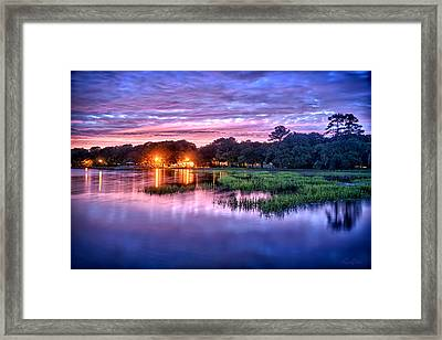 Hilton Head Evening Marsh Framed Print