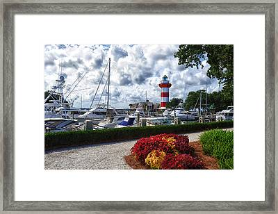 Hilton Head Lighthouse Framed Print
