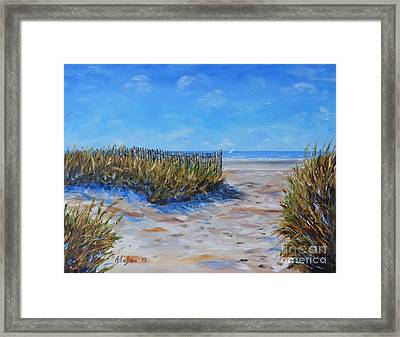 Hilton Head North End Framed Print