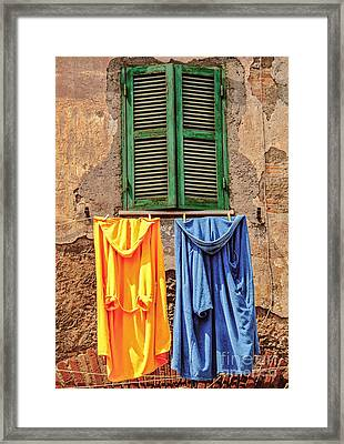 Him And Her Framed Print by Danilo Piccioni