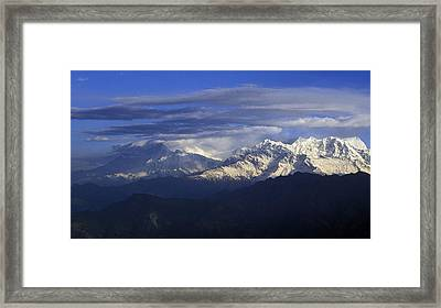 Himalaya Framed Print by Anonymous
