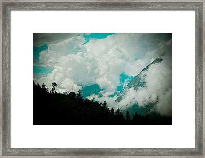 Himalayas Clouds  Framed Print