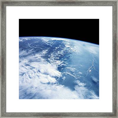 Himalayas From Space Framed Print