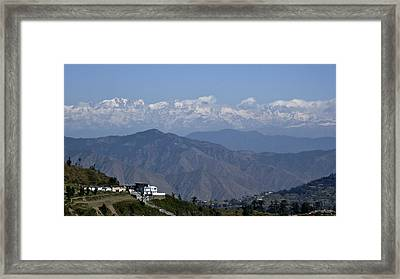 Himalayas I Framed Print by Russell Smidt