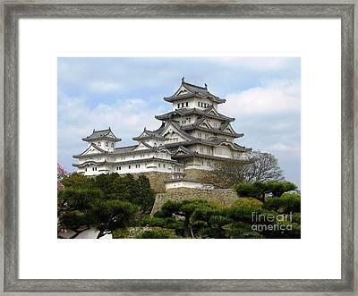 Himeji Castle - Hyogo Prefecture Framed Print