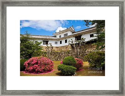 Himeji Castle Japan Framed Print