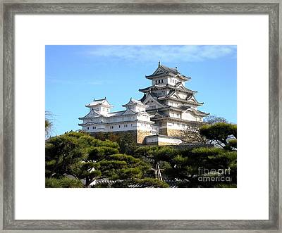 Himeji Castle Framed Print