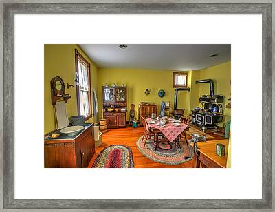 Hinckley Fire Museum Framed Print by Amanda Stadther