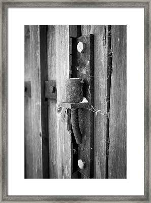 Hindge Framed Print by Robert Hellstrom
