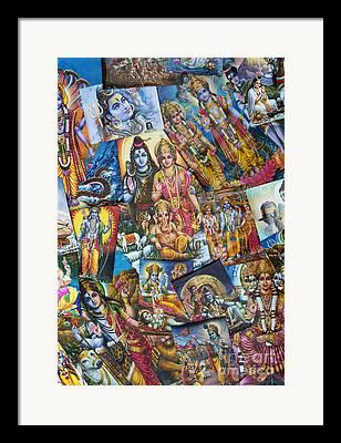 Rama Framed Prints