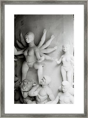 Hindu Sculpture Framed Print by Shaun Higson