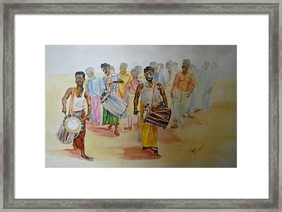Hindus Festival Framed Print