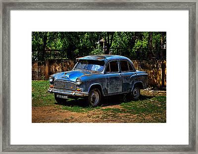 Hindustan Ambassador Classic Framed Print
