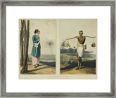 Hindustani Men Framed Print
