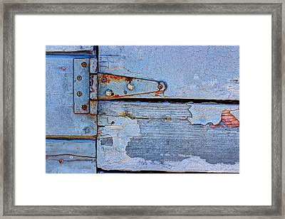 Hinged Framed Print by Heidi Smith