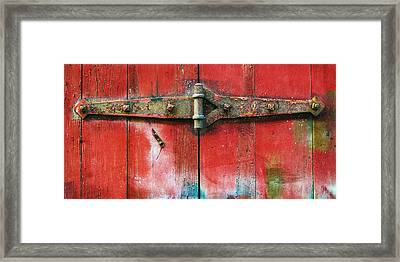 Hinged Framed Print