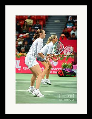 Martina Hingis Photographs Framed Prints