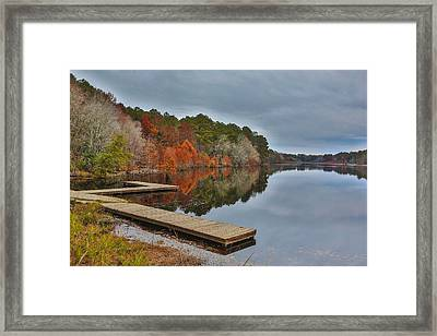 Hinson Lake Framed Print