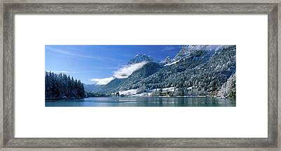 Hinter See Bavaria Germany Framed Print