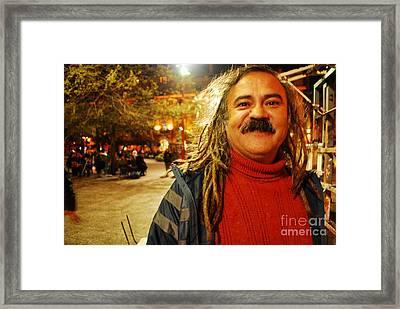 Hip Chaplin Framed Print by Susan Hernandez