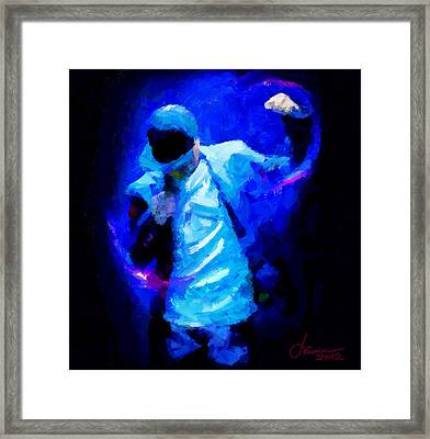 Hip Hop Is More Than Music Tnm Framed Print by Vincent DiNovici