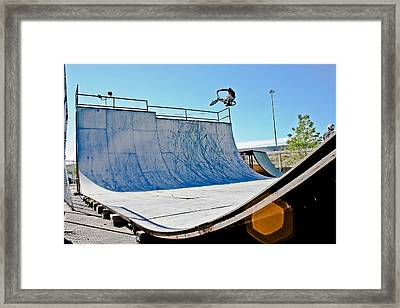 Hip To Pipe Framed Print by Joel Loftus