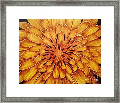Framed Print featuring the painting Hipnose by Paula L