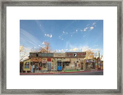 Hippie Opera - South Austin Texas Framed Print
