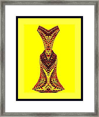Hippy Dress Framed Print