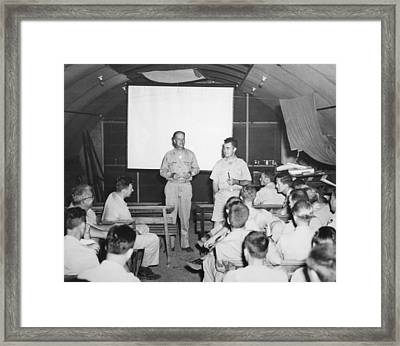 Hiroshima Atomic Bomb Crew Framed Print