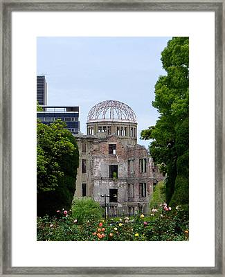 Hiroshima Dome Framed Print by Duomo Photography