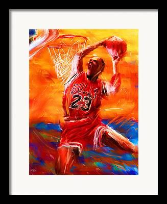 Jordan Wall Art Framed Prints