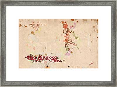 His Airness - Michael Jordan Framed Print by Paulette B Wright