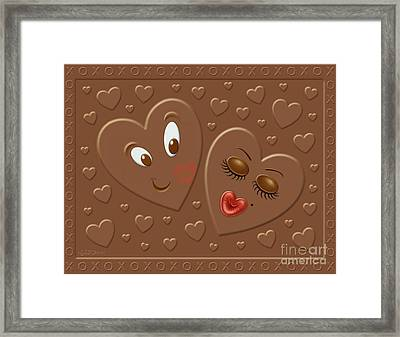 His And Hersheys Framed Print by Cristophers Dream Artistry