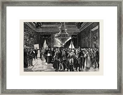 His Excellency The President Of The Ministerial Council Framed Print